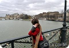EXCORDE Eu na Ponte das artes Paris