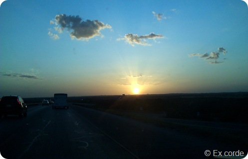 Por do Sol em San Antonio_Ex corde